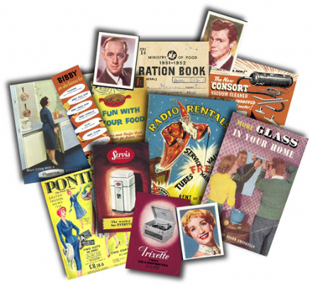 1950's Household Memorabilia Gift Pack